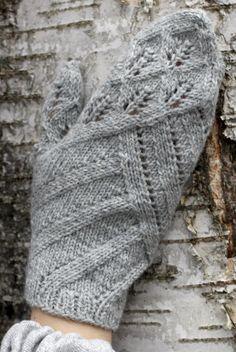 Neulotut lehtilapaset Novita Nalle | Novita knits