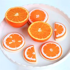 How to Make Decorated Citrus Cookies