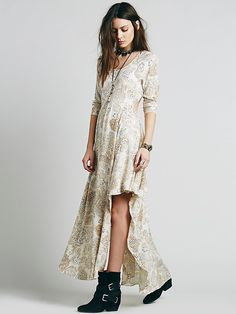 Free People Dance Like a Dream Dress, $148.00http://www.freepeople.com/clothes-dresses-printed-dresses/dance-like-a-dream-dress/