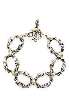 Konstantino Amphitrite Pearl Link Bracelet - available at Nordstrom