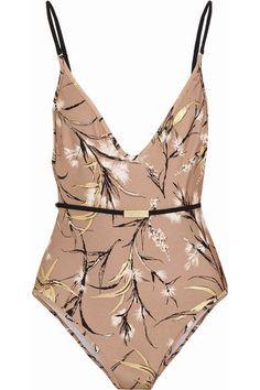52415e88e2 Zimmermann - Gossamer printed swimsuit. Shop stylish women s swimwear at ...