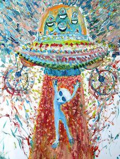 alien paintings - Google Search