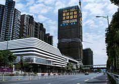 Zhao Guo Xing – Jack, galardonado en los VIII Premios. Industrial Architecture, Concept Architecture, Futuristic Architecture, Architecture Design, Mall Facade, Retail Facade, Parking Building, Building Facade, Mix Use Building