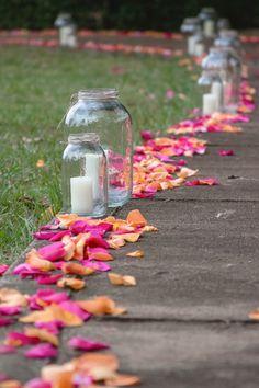 Súper cute camino hacia la ceremonia by santaboda