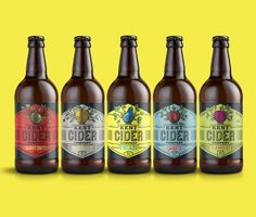 Kent Cider Company Redesign — The Dieline - Branding & Packaging
