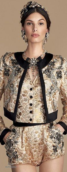Dolce & Gabbana Holiday Party Collection Women's Fashion RTW | Purely Inspiration