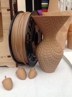 Wood printing--3ders.org - 3D Print Show in London highlights: desktop 3D printers (video) | 3D Printer News  3D Printing News