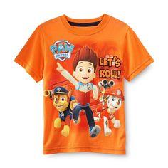 Nickelodeon Paw Patrol Boys Graphic Tee Shirt Orange SS 2t 3t 4t nwt Chase  #Nickelodeon #Everyday