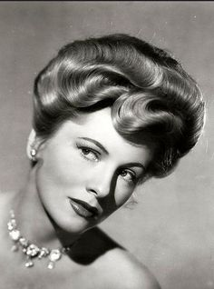 Joan Fontaine, Perfect Waves, Perfect Hairdo