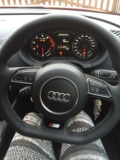 One of my fave views every morning  #Audi ♡