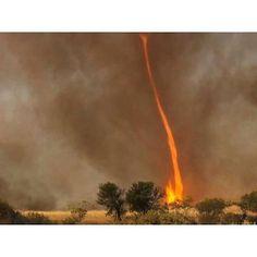 Puting beliung api adalah badai yang disebabkan oleh kebakaran. Pusaran api boleh berlaku apabila haba semakin meningkat dan keadaan angin bergelora bergabung untuk membentuk pusaran udara. Sebuah pusaran api boleh mencapai sehingga 2000° F (1090° C) cukup panas untuk menyalakan semula abu yg disedut dari tanah. Puting beliung api besar boleh mencapai kelajuan angin lebih daripada 160 km/h dan boleh bertahan selama satu jam atau lebih. Pada 18-22 Januari 2003 kebakaran belukar Canberra…