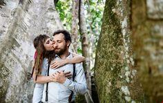 Наташа и Дима фотосессия на Самуи в тропическом лесу