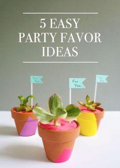 5 Easy Party Favor Ideas   eBay