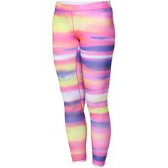 Roxy Fit For Waves Surf Leggings ($37) ❤ liked on Polyvore featuring leggings, bottoms, pink, matte jersey and pink jersey
