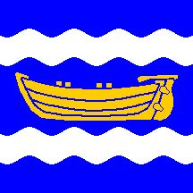 Flag of Uusimaa Nyland, Finland Flags Of The World, Crests, Finland, Denmark, Norway, Scandinavian, Maps, Boat, World Flags