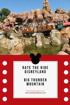 What do you think of Big Thunder Mountian? Rate the ride and share your likes and dislikes. Disneyland Pins, Disneyland Secrets, Disneyland Vacation, Disney Vacations, Cheap Disney Tickets, Disneyland Resort California, All Disney Parks, Disney Fun Facts, Disney Souvenirs