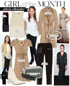 Girl of the Month: Alicia Vikander - Celebrity Style and Fashion from WhoWhatWear