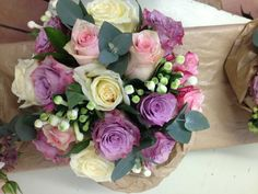 Flowers by Jan Park at Blue, perfect for wedding bouquets.