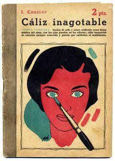 espop: Caliz inagotable. Portada de Manolo Prieto.