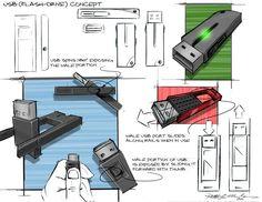 USB Sketches 2