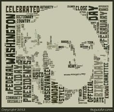Use tagxedo.com to create word clouds. There are lots of options (fonts, shapes, etc.) to create some really neat word clouds that you can then share with others.