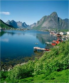 The Lofoten Island of Western Norway