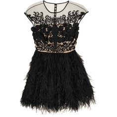 Prabal Gurung Embellished mesh and feather silk-organza top ($8,245) via Polyvore