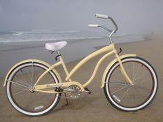 "Want it so badly! Firmstrong Bella Fashionista Single Speed,   Vanilla - Women's 26"" Beach Cruiser"