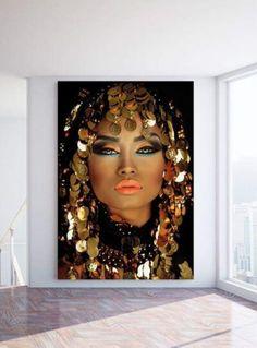 Alu art dark skinned girl close up - Purewood Female Portrait, Portrait Art, Photography Women, Portrait Photography, Cobra Art, Arabian Princess, Romantic Bedroom Decor, Living Room Decor Cozy, Dark Skin Girls