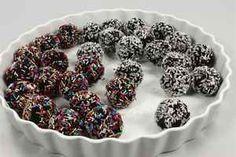 Romkugler af kagerester 4