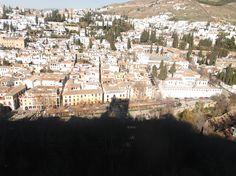 Vista Albaizin desde la Alhambra