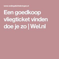 Een goedkoop vliegticket vinden doe je zo   Wel.nl