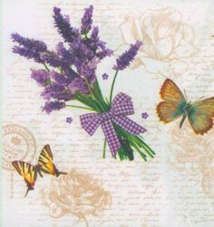 decoupage-paper-napkin-lavender-flowers-floral-butterfly-CHN00322-1