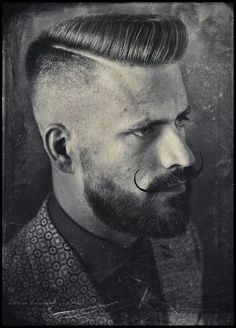 Flattop / Scumbag Boogie crossover by Schorem Haarsnijder en Barbier from Rotterdam. Pic by Jelle Mollema.