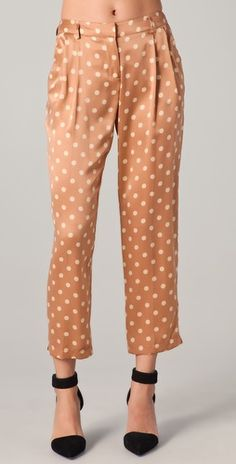 need. want. love! beautiful silk trousers by Robert Rodriguez. This gorgeous number has been so fun to style :)