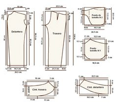 PATRONES DE PANTALONES CURSO ONLINE COMPLETO! Sewing Pants, Pattern Drafting, Clothes For Women, Google, Baby, Fashion, Dress Template, Patron Couture, Kid Outfits