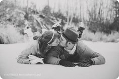ice skating, love this pose idea engagement photos