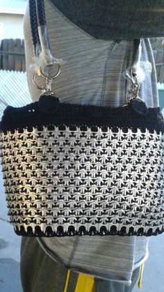 bucket pop tab purse