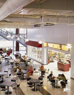 Fairmont State University Student Union and Recreation Center, Fairmont WV | Cafeteria | VOA Associates, Architects