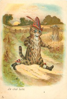 Puss in Boots | by Louis Wain
