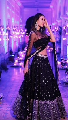 designer lakhnavi blue color lehenga for wedding For order whatsapp us on Indian Bridal Outfits, Indian Designer Outfits, Lehnga Dress, Lehenga Choli, Sharara, Bridal Lehenga, Moda Indiana, Glam Look, Indian Gowns Dresses