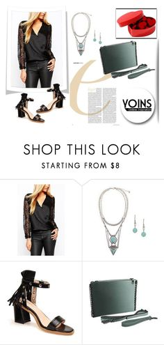 """""""YOINS 9"""" by april-lover ❤ liked on Polyvore featuring women's clothing, women, female, woman, misses, juniors and yoins"""