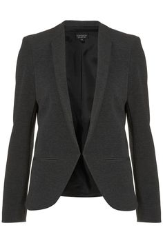 Ribbed Collarless Blazer - New In This Week - New In - Topshop