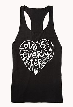 #Forever21                #love                     #Love #Everywhere #Tank #FOREVER #2076581175        Love Is Everywhere PJ Tank | FOREVER 21 - 2076581175                                                    http://www.seapai.com/product.aspx?PID=883225