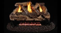 New Peterson Real Fyre Split Oak Log Set With Vent-free Natural Gas Ansi Certified Burner - Variable Flame Remote online shopping - Chicprettygoods Vent Free Gas Fireplace, Natural Gas Fireplace, Gas Fireplace Logs, Gas Fireplaces, Wood Fired Oven, Wood Fired Pizza, Ventless Gas Logs, Outdoor Pizza Oven Kits, Oak Logs