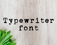 This item is unavailable Fonts For Mac, Otf Font, Cricut Fonts, Alphabet Letters, Typewriter, Cricut Design, Svg File, Paper Crafts, Etsy