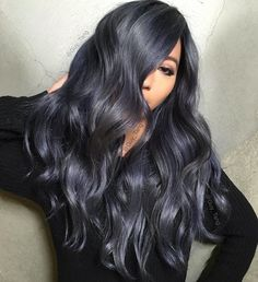 We've gathered our favorite ideas for Dark Grey Hair Color Idea 2017 Hair Hair Color For, Explore our list of popular images of Dark Grey Hair Color Idea 2017 Hair Hair Color For in grey with purple hair color. Dark Grey Hair Dye, Grey Hair Men, Hair Color For Black Hair, Purple Hair, Dark Hair With Blue, Dark Silver Hair, Dark Ombre, Pink Wig, Mens Hair