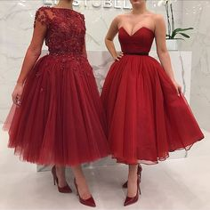 Cute burgundy tulle short prom dress, burgundy evening dress, Customized service and Rush order are available