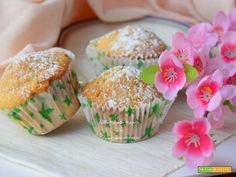 Muffin alla fragola  #ricette #food #recipes