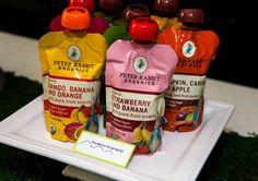 Peter Rabbit Birthday Party Favors - Peter Rabbit Organics Baby food